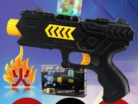 air gun pistols - gun toy CS Game Shooting Water Crystal Gun in Nerf Air Soft Gun Airgun Paintball Gun Pistol Soft Bullet Gun Plastic Toys