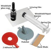 auto glass sealant - ools Maintenance Care Fillers Adhesives Sealants Car Windshield Repair Kit tools Auto Glass Windscreen repair set Give Door Handle Pro