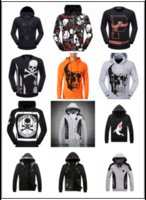 Wholesale PP Punk Hooded Casual Skull D Hoodie Men Philip Plein Long Sleeve Hoody Sweatshirt Boy Robin Jacket Zipper Hoodies Rock Pullover Tracksuit