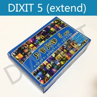Wholesale dixit5 cards board game multi instruction offered high quality suitable for kid family party