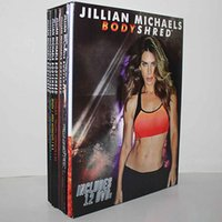 Wholesale Jillian Michaels BODYSHRED Workout DVD Base Kit BONUS DVD DVD INCLUDED Fitness workout VS Cize Workout DVD