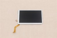 Wholesale Original Lower Bottom Upper Top Screen LCD Display Replacement For Nintendo New DS XL LL for New DSXL DSL Game Console Repair Parts