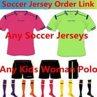 venda por atacado camisa dos homens-Linda e Peak Futebol ordem dos links Você Ordem Cada Football Shirts Man treino shirts os miúdos mulher jaqueta camisola Polo Basquetebol