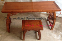 antique writing table - Home furniture piano table in classicial antique design luxury African Red sandalwood desk kids writing table wood furniture
