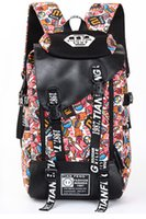 Wholesale 2016 Cheap Price New Vintage Retro Canvas Backpack Travel Rucksack Hobo School Bag Satchel bags Print Backpack