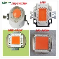 Wholesale led grow chip W W W W W W W full spectrum nm for Diy Led plant Grow Light