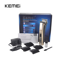 barber clippers trimmers - 2016 Kemei KM Hair Trimmer Rechargeable Electric Hair Clipper Waterproof High Power for Men Baby Children Hair Clipper Barber Cutting