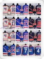 avery shop - New York Ice Hockey Rangers Jerseys GRESCHENR GILBERT SHANAHAN AVERY DUBINSKY17 STAAL drop shopping freeshipping