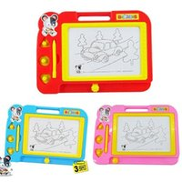 Wholesale Plastic Magnetic Drawing Board Sketch Sketcher Pad Doodle Writing Toy For Kids Children Multi Color