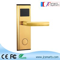 electronic key door lock - High quality hotel door access system digital Electric Promotion intelligent Electronic hotel key card door lock