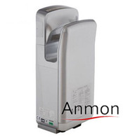 Wholesale Fully automatic anmon double faced jet hand dryer induction hand drying device hand dryer machine hand drying machine silver