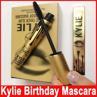 Wholesale Kylie Mascara Charming Eyes Magic Thick Slim Waterproof Mascara Black Color Kylie Mascara Liquid Gold Body Birthday Makeup