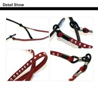 Wholesale Fashion Adult Suede Rivets Eyeglasses cord width mm Sunglasses Glasses chain holder colors for option rope glasses