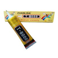 Wholesale New T8000 ml transparent glue B6000 upgrade phone touch frame show flat screen glue point drill adhesive