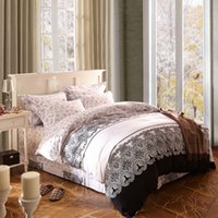 Wholesale Otherworldly cotton reactive printing bedding set