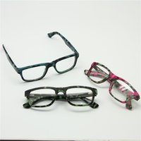 adjustable spring hinge - Size Boys Girls Children Acetate Camouflage Optical Glasses Frame Light Spring Hinge Temple Adjustable Student Eyewear
