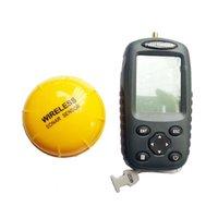 Wholesale Portable Wireless Fish Finder Echo Sounder Fishing Depth Sounder kHz Sonar Sounder Range M Alarm Transducer Fishfinder