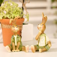 Wholesale Resin handicraft decoration decoration gift Home Furnishing animal rabbit