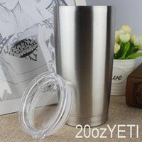 automobile insulation - 20 OZ YETI insulation Cup stainless steel car cup new double vacuum automobile cup custom