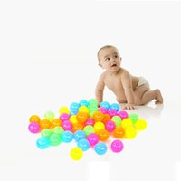 Wholesale Colorful Plastic Water Pool Ocean Wave Ball Baby stress air ball outdoor fun sports Christmas Gifts Swimming Pool Accessories