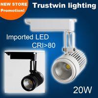 Wholesale LED High quality high CRI V V V V spotlight COB LED rail spot light lamp rail spotlight W