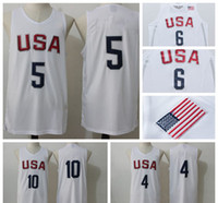 Wholesale USA Olympic Basketball Jerseys Cheap Basketball Jerseys USA Olympic Basketball Shirts USA Olympic Basketball Wears Online Shop