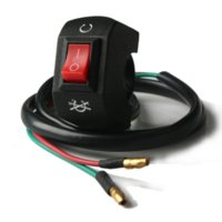 atv alarm - Universal Motorcycle Kill ON OFF Switch For Scooter ATV Dirt Bike switch motorcycle anti theft alarm