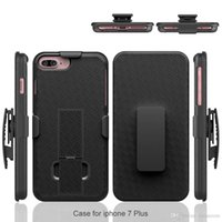 Wholesale 2017 New Design PC Phone Cases Cover belt clip in for Apple iPhone Plus Cases by DHL