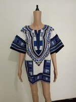 Wholesale 2016 Fashion Africa Clothing Dashiki Dresses Womens Mens African Clothing Traditional Print Fashion Design African Bazin T shirt