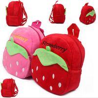 2016 venta directa New Mei Red Escuela Bolsas Mochilas Infantis Lovely Niños Mochila Baby Bolsa Pequeña Es Joven Niños Bolsa / jardín Fluffy Little