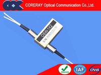 Wholesale 1x2 fiber optic switch low cross talk low Insertion loss Latching and non latching
