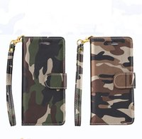 army mobile phones - For iphone plus Cell Phone Cases TPU Army Camo Luxury Camouflage Mobile Phone Protection Cover Card Pocket Wallet Cases DHL