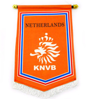 Wholesale SPORT TIME Euro football fans at euro Dutch souvenirs major team five flag to exchange them CM