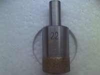 Wholesale 2pcs Diamond Drill Bit Glass Drill Bit Sintering Drill Bit for Glass Straight Shank Free Ship Available Diameter mm