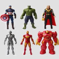 Wholesale Avengers League of legends player models toy doll ornaments against Hulk cartoon anime shop around Action Figures