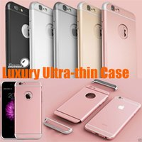 hard cover - Full Body Luxury Ultra Thin Shockproof Metallic in Hard Cover Case for Iphone s Iphone6 s or Iphone6 Plus s Plus S7