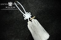 Wholesale C01 X0101 In box Hot sale car Interior Decorations JDM JUNCTION PRODUCE JP Fusa kiku knots rope White VIP Charm