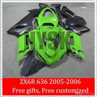 Cheap Ninja 636 2005 fairings Best 2006 zx6r 636