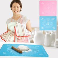 bakers tools - Fashion Silicone Cake Dough Pastry Fondant Rolling Cutting Mat Baking Pad Baker Tool