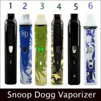 Wholesale In stock vape kit clone MAH Dry Herb Herbal Vaporizer clone Snoop Dogg clone vapor e cig ecigs titan kit DHL Free E cigarette Kits