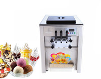 Wholesale 220V Stainless Steel Cream Machine Commercial Soft Ice L H Ice Cream Maker