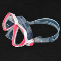 Wholesale 1 piece diving goggles tempered diving glasses for child and kid quality snorkel and swimming gears hotsale and freeshipping