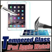 apple ipad watch - 9H Explosion Proof Premium Tempered Glass Screen Protector For iPhone Plus S iPad Mini Air2 Apple Watch mm MOQ