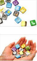 app fridge magnets - 2011 New Cute App Apple System Icon Sharp Cartoon Refrigerator Magnet Sticker Fridge Icons