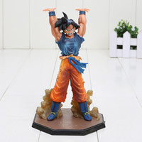 battle red - New Arrival Dragon Ball Son Goku Spirit Bomb Ver Battle Namek CM PVC Figure Model Toy