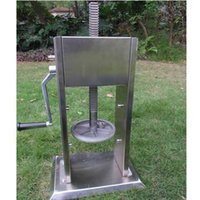 Wholesale 5L Manual vertical sausage filler hand sausage machine Ham filling machine Sausage making machine All stainless steel materials