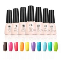 Cheap UV Nail Gel Base Top Coat UV LED Lamp 10 pcs Nail Polish Gel Nail Art Design Long Lasting New Bright Colorful 10 Colors Manicure Tool