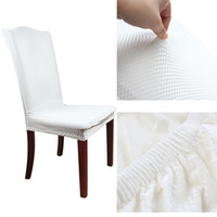 Wholesale 20PCS Universal Polyester Stretch Chair Cover Vintage Elastic Jacquard Chair Covers for Wedding Decoration Party Suppies Colors