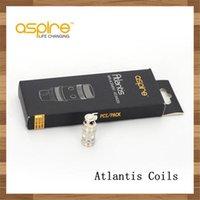 Aspirer atlantis bobines de remplacement France-Authentic originale Véritable Aspire Atlantis Coil 0,3 0,5 1.0ohm ajustement Aspire Atlantis 2 V2 Sub ohm atomiseurs Coil Replacement Coil
