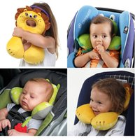 Wholesale Useful Car Headrest for Children Baby Protection Cushion Head Neck Rest Pillow for Car Baby Buggy Comfortable Seat Covers